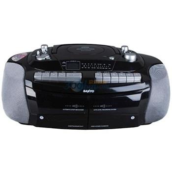 三洋(sanyo)镭射cd双卡双声道收录机mcd-xw329
